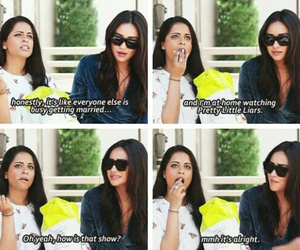funny, pretty little liars, and lol image