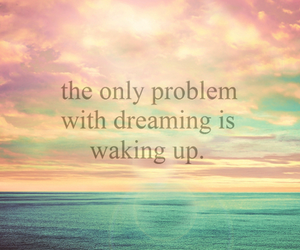Dream, dreaming, and waking up image