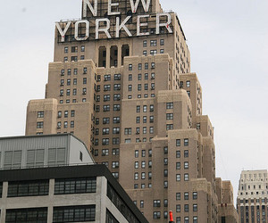 building and new yorker image