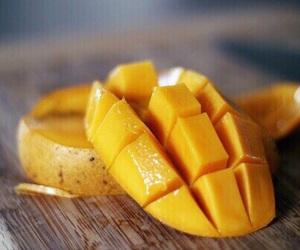 mango, yummy, and food image