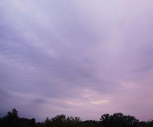 sky, grunge, and pastel image