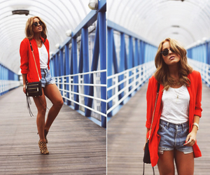 blogger, shorts, and style image
