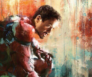 iron man, Marvel, and art image
