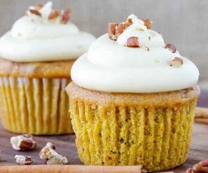 autumn, cupcakes, and fall image