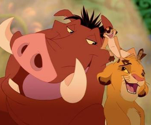 simba, timon, and lion king image