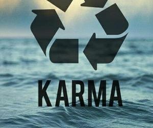 karma and 😂 image