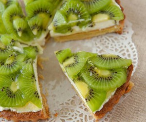 kiwi, cake, and food image