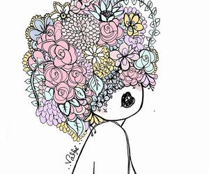 flowers, valfre, and art image