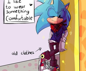 sonic and sonic clothes image