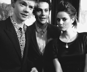 KAYA SCODELARIO, dylan o'brien, and thomas sangster image