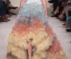 fashion, Marchesa, and dress image
