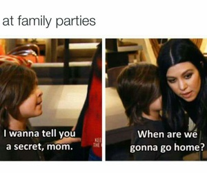 funny, party, and family image