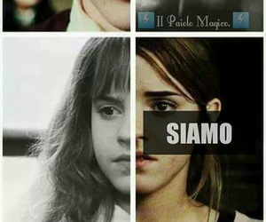 harry potter, hermione, and hp image
