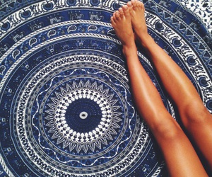 blue, summer, and tan image