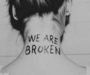 broken, paramore, and quotes image