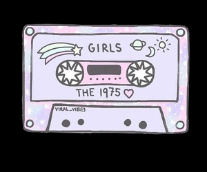 overlay, girls, and the 1975 image