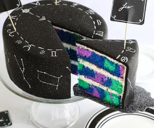 cake, food, and black image