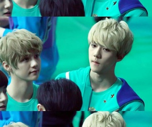 handsome, throwback, and luhan image