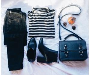 fashion, bag, and booties image