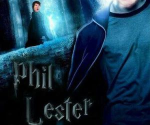 phil lester, dan howell, and harry potter image