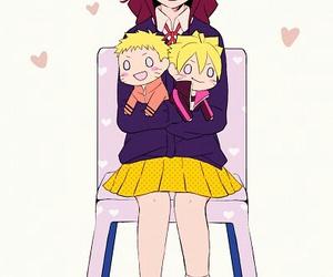 naruto, anime, and himawari image