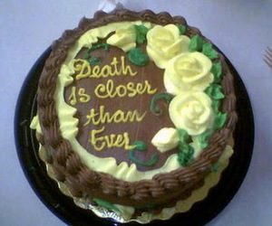 cake and death image