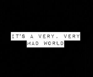 mad world image
