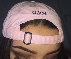 pink, makeup, and Polo image