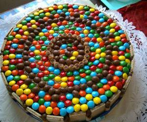 cake, chocolate, and dandy image