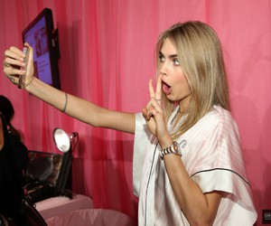 cara delevingne, model, and Victoria's Secret image