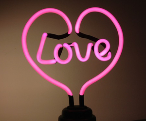 pink, love, and light image