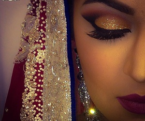 arabian, glitter, and gorgeous image