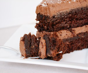 brownies, delicious, and foodporn image