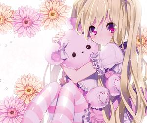 anime girl, lolita, and るご (artist) image