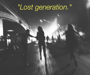 lost, grunge, and teenager image