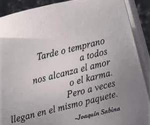 karma, letters, and amor image
