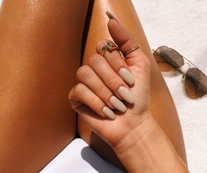 nails, summer, and luxury image
