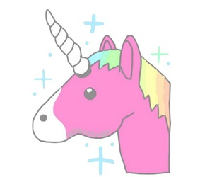 unicorn, pink, and png image