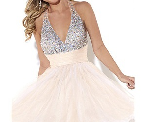 beading homecoming dress, dolcedress, and sparkle homecoming dress image