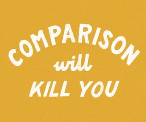 quotes, yellow, and comparison image