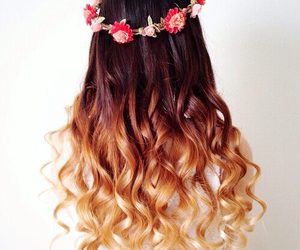 curls and flowers image