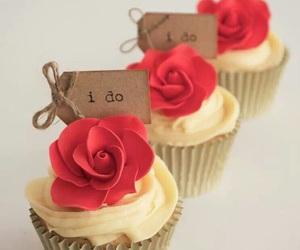 cupcake and rose image