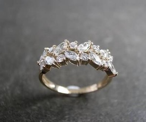 diamonds, rings, and engagement ring image