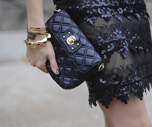 fashion, black, and clutch image