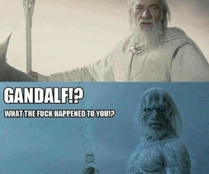 gandalf, lord of the rings, and game of thrones image
