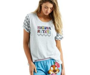 lion king, pyjamas, and timon image