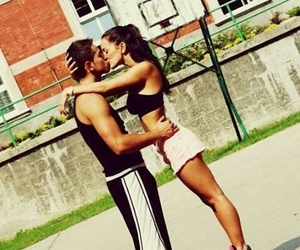 Basketball and love image