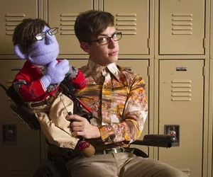 glee, kevin mc hale, and artie abrams glee kukla image