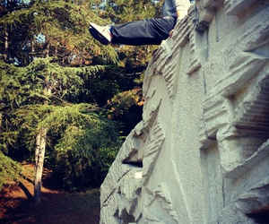 art, nature, and parkour image