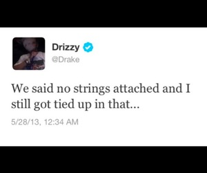 quote, Drake, and twitter image